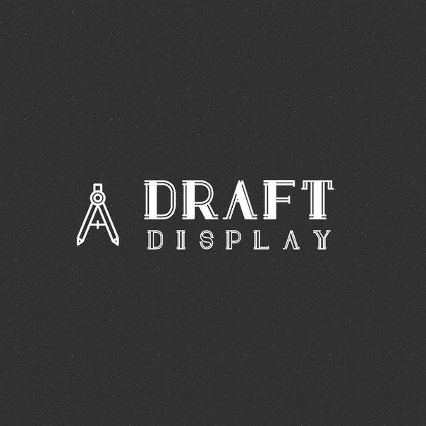 Draft Display шрифт скачать бесплатно