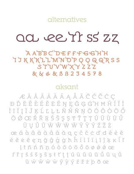 Ponsi Rounded Slab шрифт скачать бесплатно