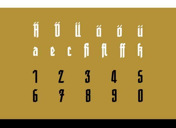 friedrich шрифт скачать бесплатно