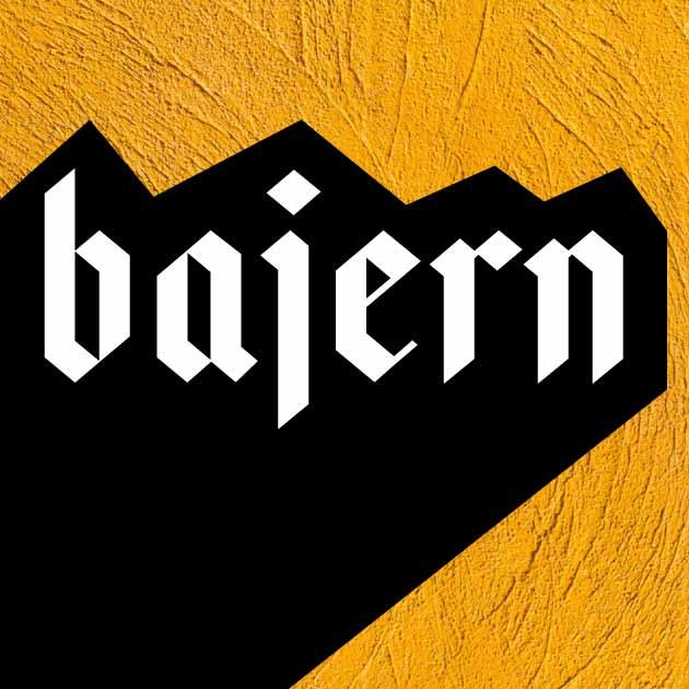 bajern шрифт скачать бесплатно