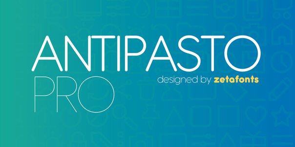 Antipasto шрифт скачать бесплатно