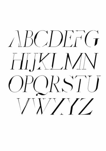 Distorted Fashion шрифт скачать бесплатно