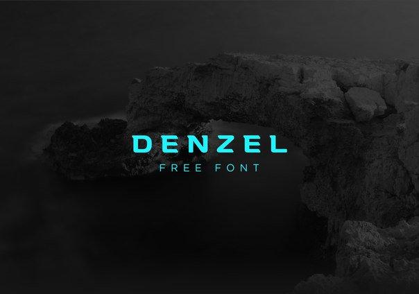 denzel шрифт скачать бесплатно