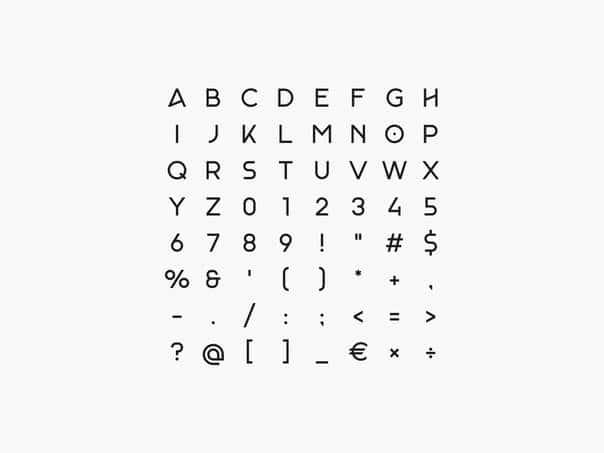Monad шрифт скачать бесплатно