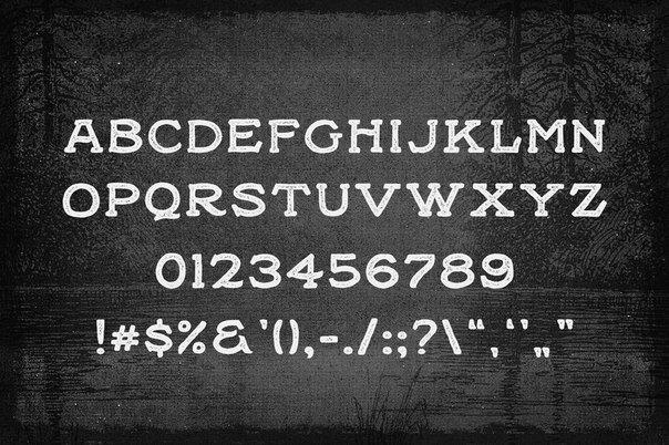 Black Willow шрифт скачать бесплатно