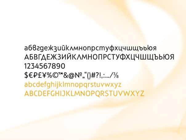 Simbal шрифт скачать бесплатно