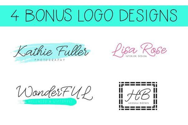 Oh Wonder Font Bonus Font Logos шрифт скачать бесплатно