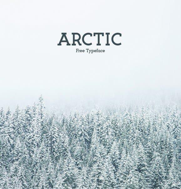 Arctic шрифт скачать бесплатно