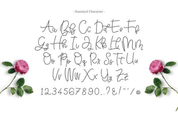 Bellinda Script Typeface шрифт скачать бесплатно