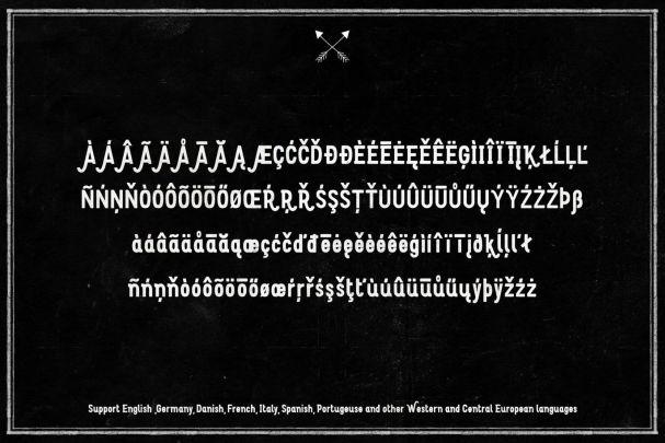 Arson Typeface шрифт скачать бесплатно