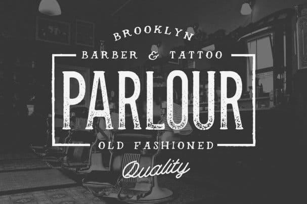 Parlour шрифт скачать бесплатно