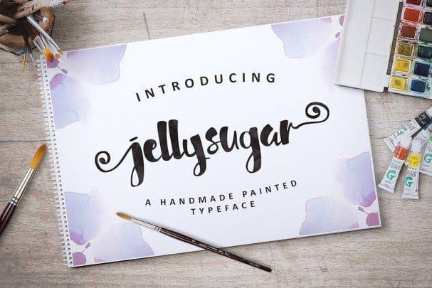 Jellysugar Typeface шрифт скачать бесплатно