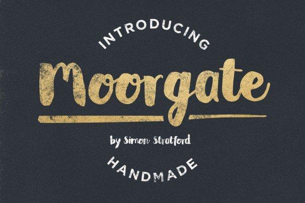 Moorgate шрифт скачать бесплатно
