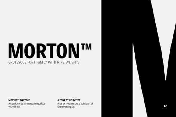 Morton шрифт скачать бесплатно