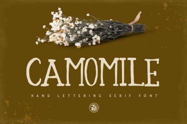 Camomile шрифт скачать бесплатно