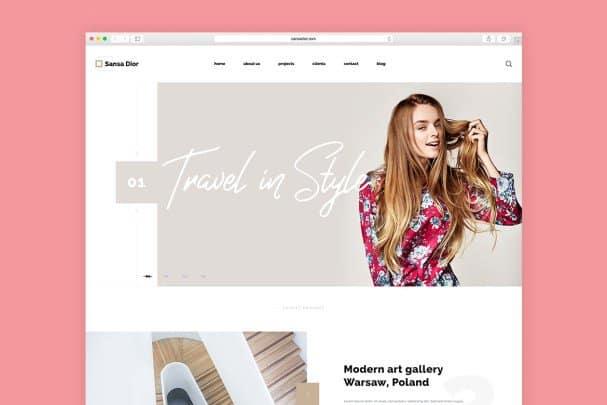 Sansa Dior шрифт скачать бесплатно