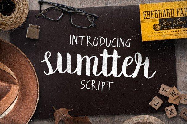 Summter Script шрифт скачать бесплатно