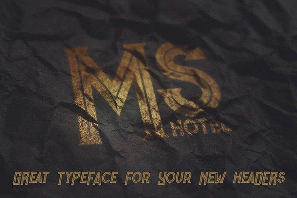Murray - Vintage Style   шрифт скачать бесплатно