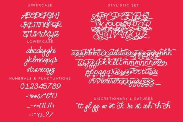 Artzopo Font шрифт скачать бесплатно