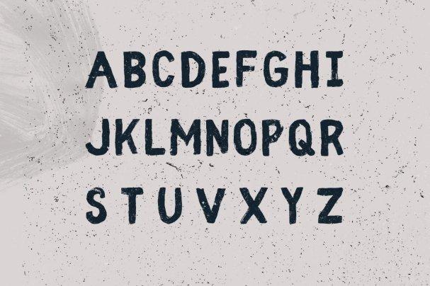 Fibre - Vintage   шрифт скачать бесплатно