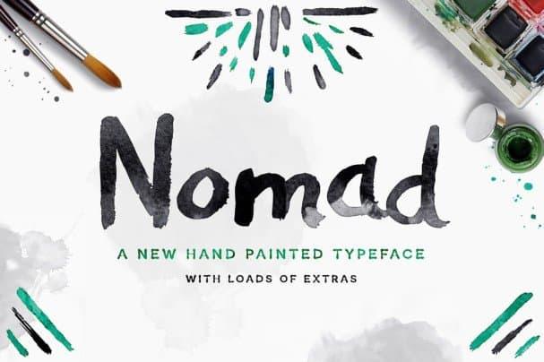 Nomad   шрифт скачать бесплатно