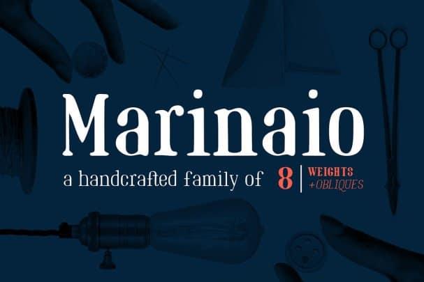 Marinaio Family шрифт скачать бесплатно
