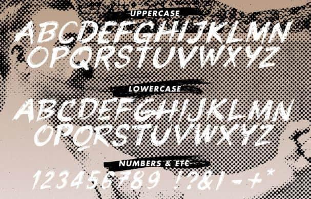 Knuckle Sandwich шрифт скачать бесплатно