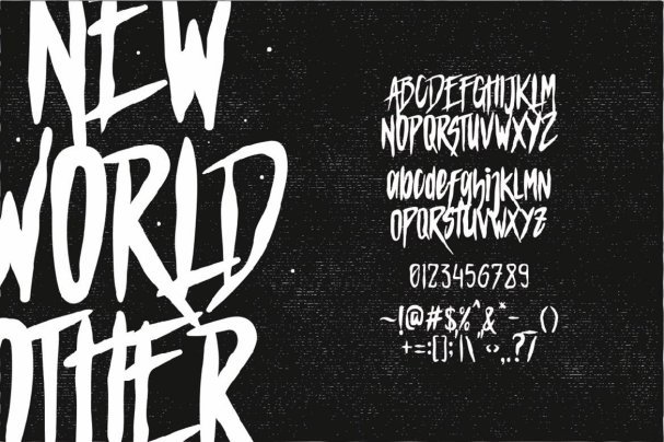 Mars Attack Typeface шрифт скачать бесплатно
