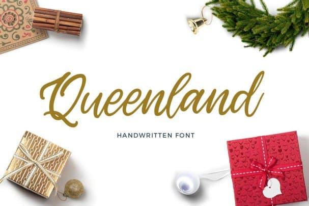 Queenland шрифт скачать бесплатно