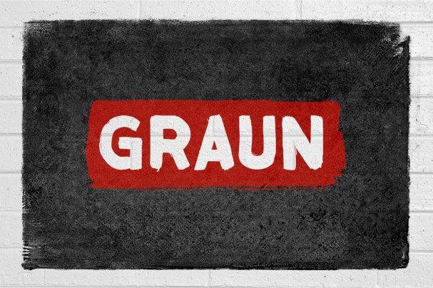 Graun шрифт скачать бесплатно