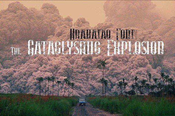 Krakatao - Vintage   шрифт скачать бесплатно