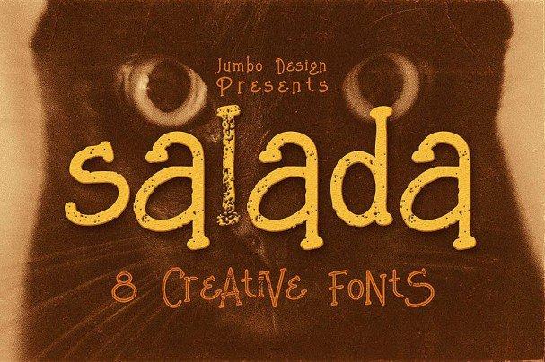 Salada - Funny Style   шрифт скачать бесплатно