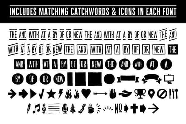Cheddar Gothic Font Family шрифт скачать бесплатно