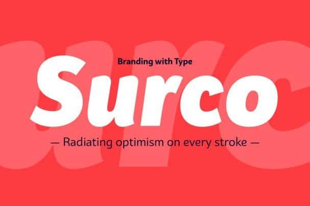 Bw Surco   family шрифт скачать бесплатно