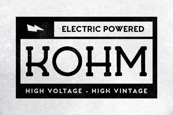 Kohm - Vintage   шрифт скачать бесплатно