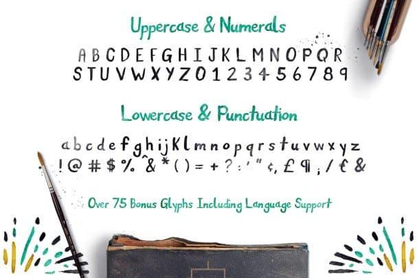 Nomad Font шрифт скачать бесплатно