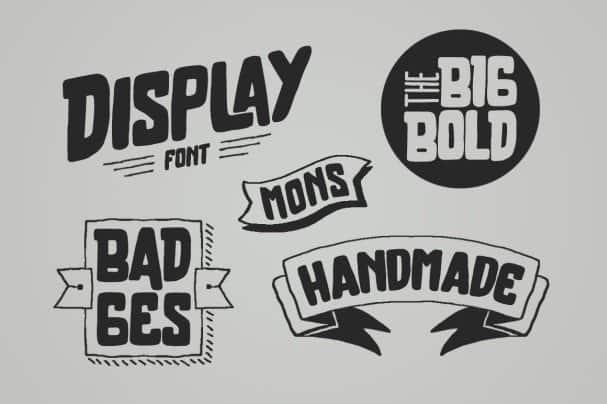 Brother Typeface шрифт скачать бесплатно