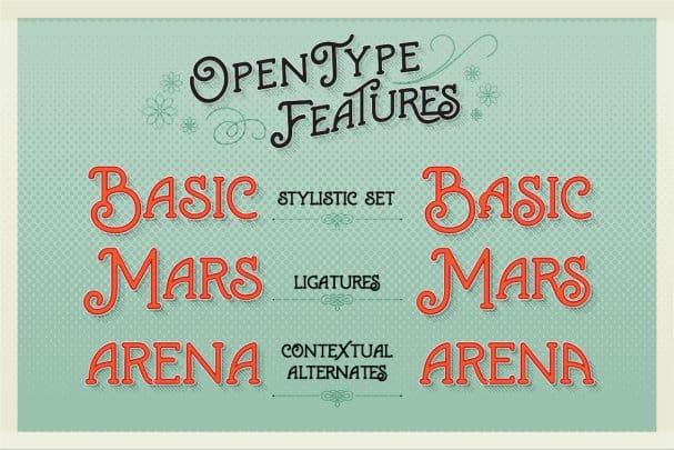 Marema Typeface шрифт скачать бесплатно