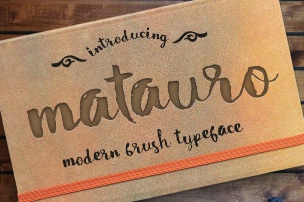 Matauro шрифт скачать бесплатно