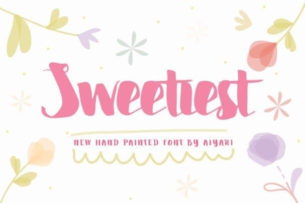 Sweetiest шрифт скачать бесплатно