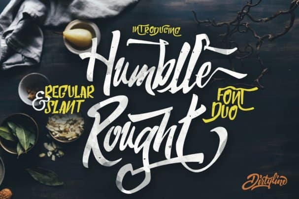 Humblle Rought - Font Duo шрифт скачать бесплатно