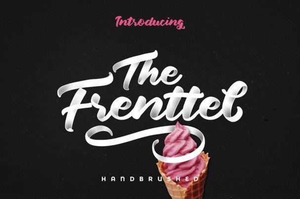 The Frenttel шрифт скачать бесплатно