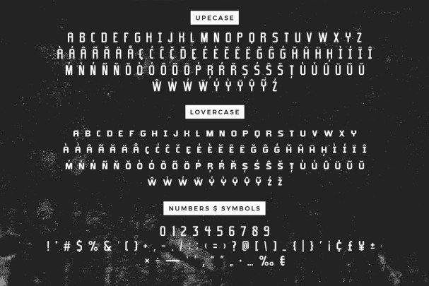 Typehead шрифт скачать бесплатно