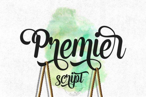 Premier Script шрифт скачать бесплатно