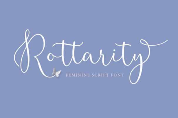 Rottarity Feminine шрифт скачать бесплатно