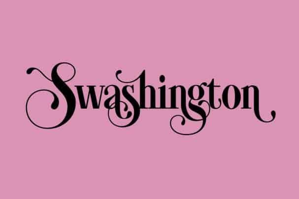 Swashington шрифт скачать бесплатно