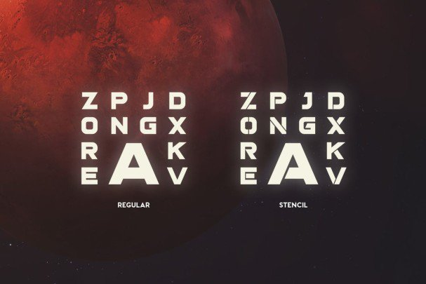 Stargaze Typeface шрифт скачать бесплатно