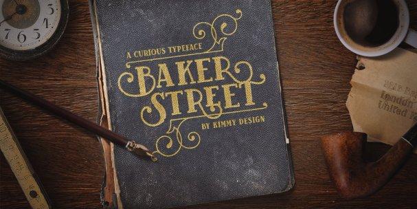 Baker Street Ornaments шрифт скачать бесплатно