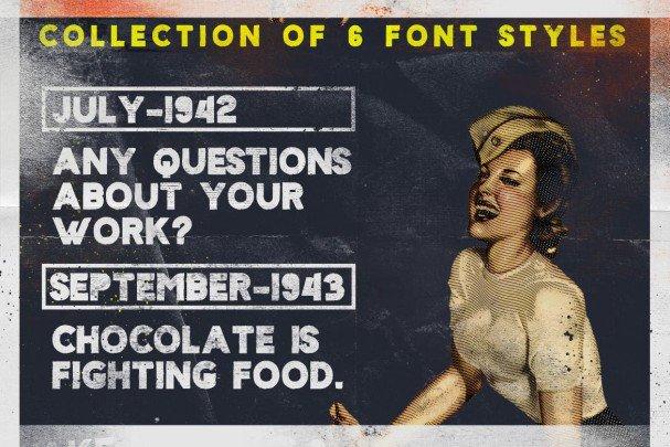 Sign 45 Typeface шрифт скачать бесплатно