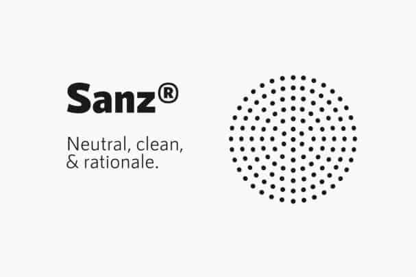 RNS Sanz шрифт скачать бесплатно